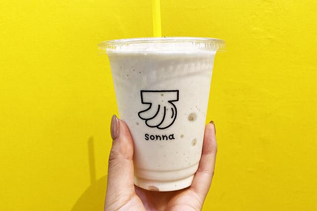 「バナナジュース」450円(税込) / sonna banana HIROO PREMIUM(そんなバナナ 広尾プレミアム)