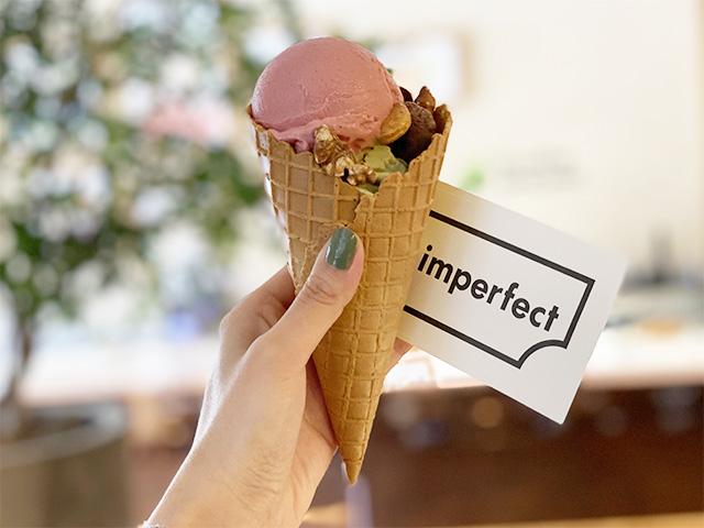 「アイスクリーム ダブル」885円(税込) / imperfect (インパーフェクト)