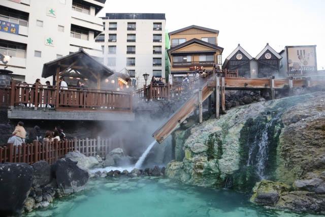 草津温泉 湯滝