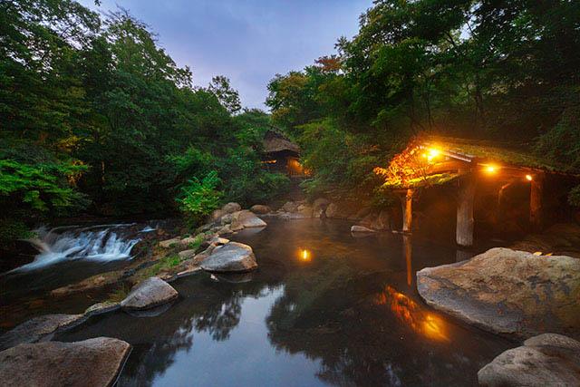 写真提供:黒川温泉観光旅館協同組合「山みず木」