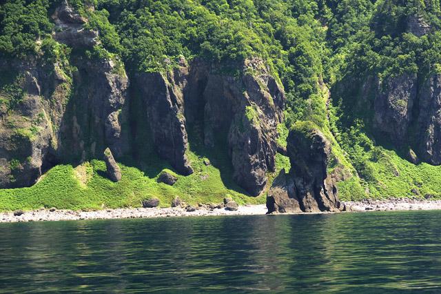 知床 世界遺産「オロンコ岩」