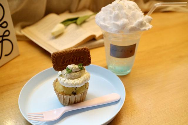 nui box「lotus cupcake」550円(税込)