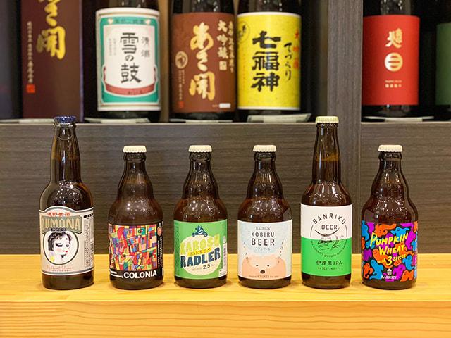 可愛いデザインのクラフトビールがたくさん
