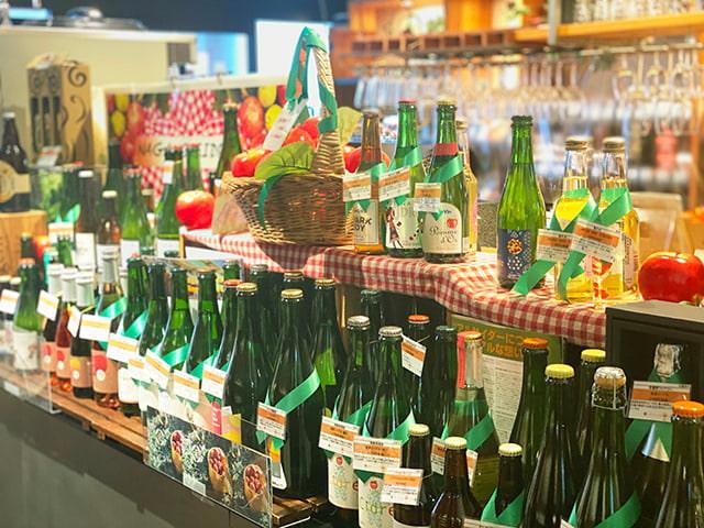 シードル特集コーナー 長野県はシードルブランド数日本一です。