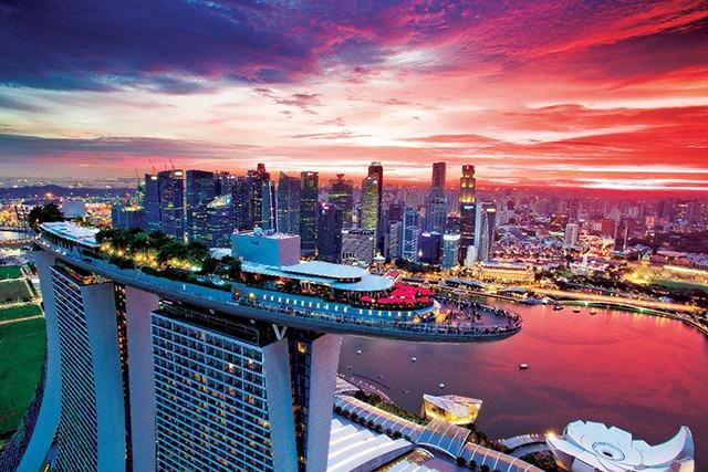 シンガポールにあるマリーナベイサンズ