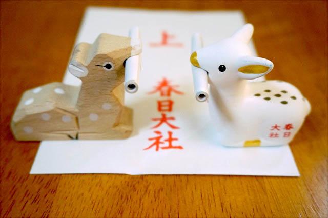 春日大社 鹿モチーフのおみくじは奈良ならでは