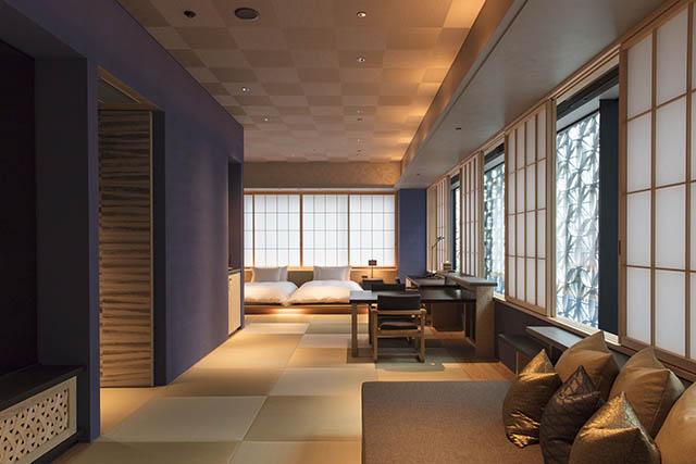 星のや東京「菊」のお部屋は3名まで宿泊OK