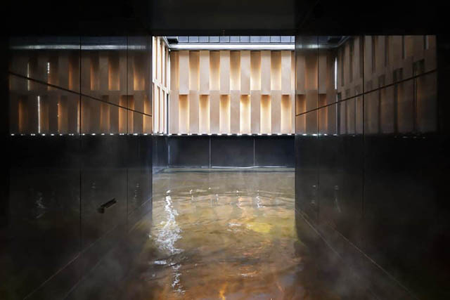 星のや東京の最上階にある「温泉」
