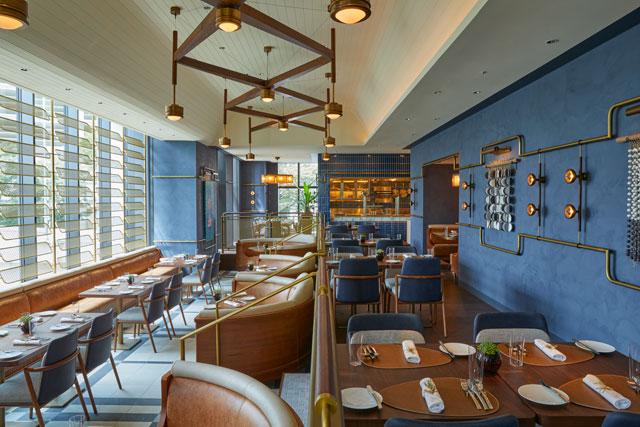 キンプトン新宿東京のレストラン「ディストリクト ブラッスリー・バー・ラウンジ」