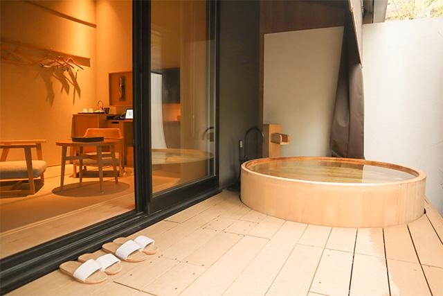 由縁別邸 代田の「露天風呂付デラックスツインルーム 」
