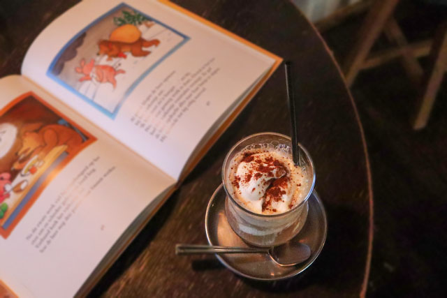 GRANARYS COFFEE STAND 「コーヒ―シェイク」850円(税込)