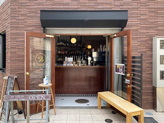 BY & BY coffee and bar(バイアンドバイ コーヒーアンドバー) 外観