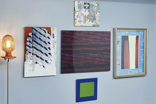 AKAKI NANPEI氏によるアート作品「UNITED FUTURE ORGANIZATION」を展示