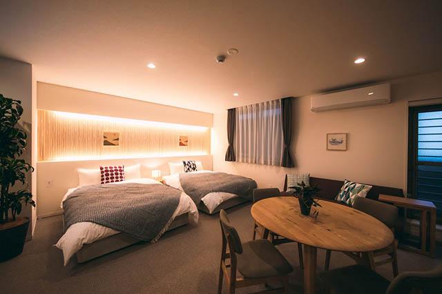 NAGI Hiroshima Hotel & Loungeの客室