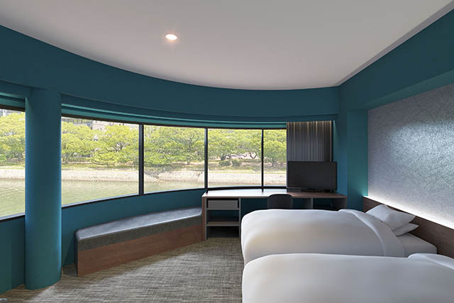 EN HOTEL Hiroshimaの客室