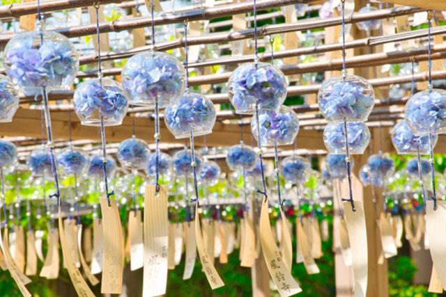 正寿院の「風鈴祭り」