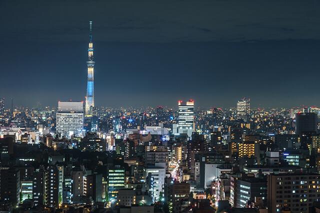 文京シビックセンターからの夜景