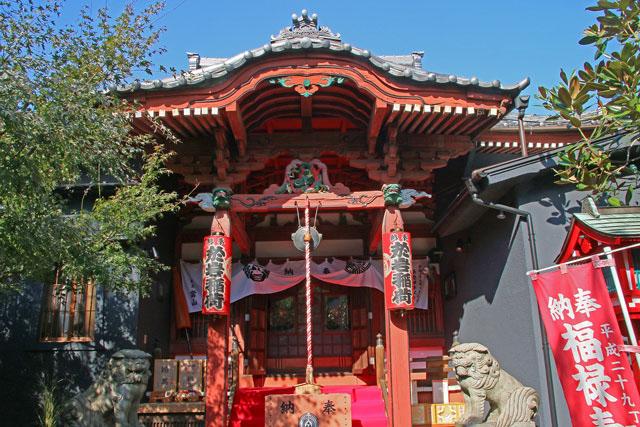 陽運寺(於岩稲荷)