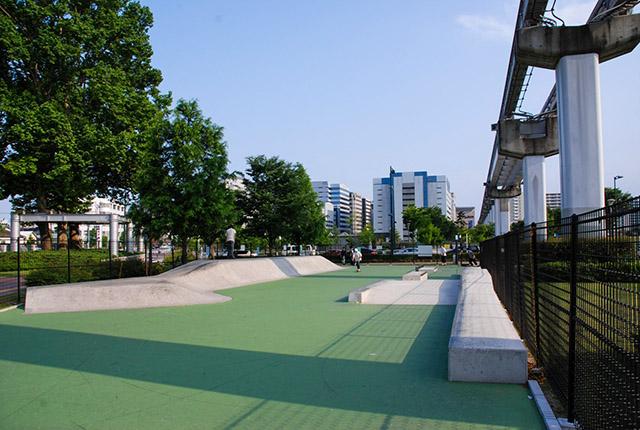 たちかわ中央公園スケートパーク