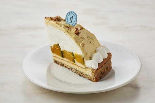 RITUEL CAFÉ「かぼちゃと黒ゴマのカスタードタルト」935円(税込)