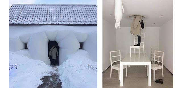 十和田市現代美術館 「ファット・ハウス/エルヴィン・ヴルム」