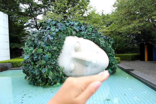 箱根彫刻の森美術館 「《嘆きの天使》/フランソワ=ザビエ、クロード・ラランヌ」