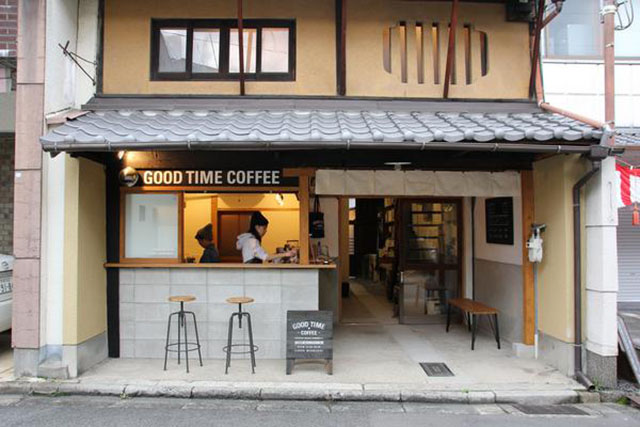 GOOD TIME COFFEE 外観