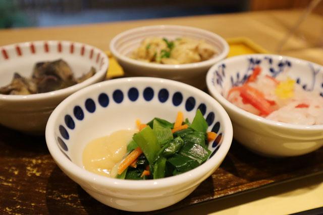 京菜味 のむら 「朝食おばんざいセット」は小鉢4種or6種から選択