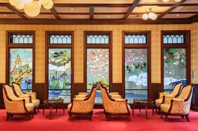 Interior of Kanazawa Hakuchoro Hotel Sanraku