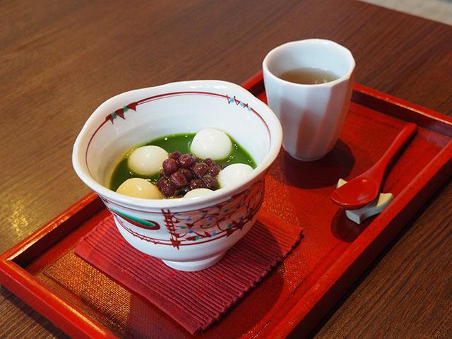 抹茶善哉 896日圓(含稅)