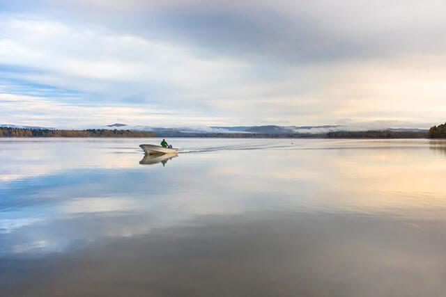 Lake Shumarinai during green season