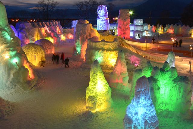 시코츠호 얼음축제