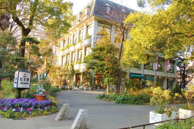 園內餐廳「松本樓」