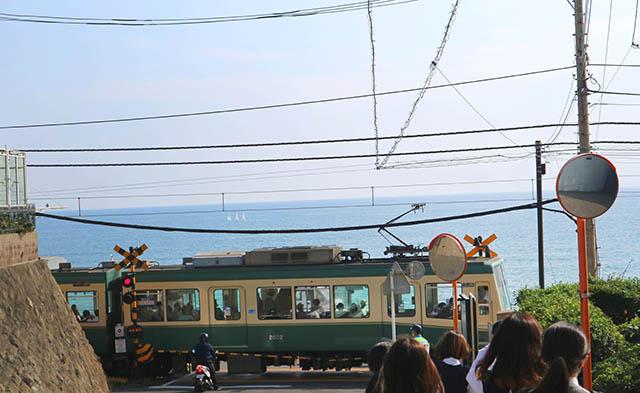 슬램덩크로 유명한 가마쿠라코코마에역