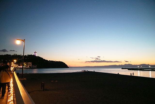 江之島弁天橋 夕陽