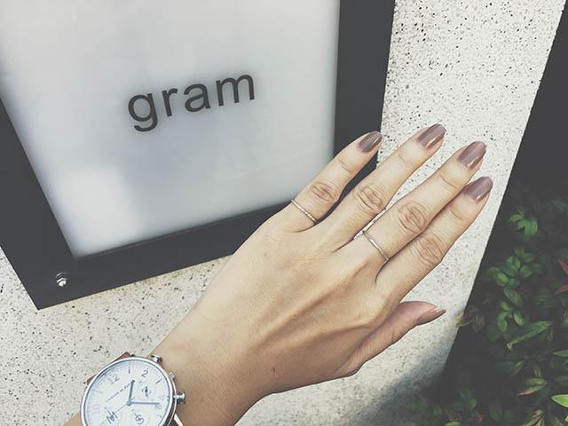 紀念飾品「gram」