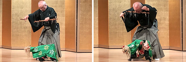 Classical Japanese dance show