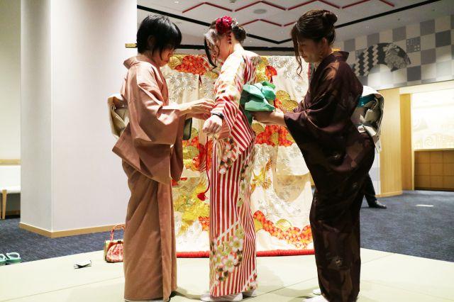 Japanese Kimono fitting
