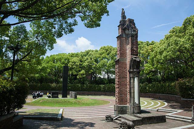 평화 공원, 나가사키 원폭 자료관