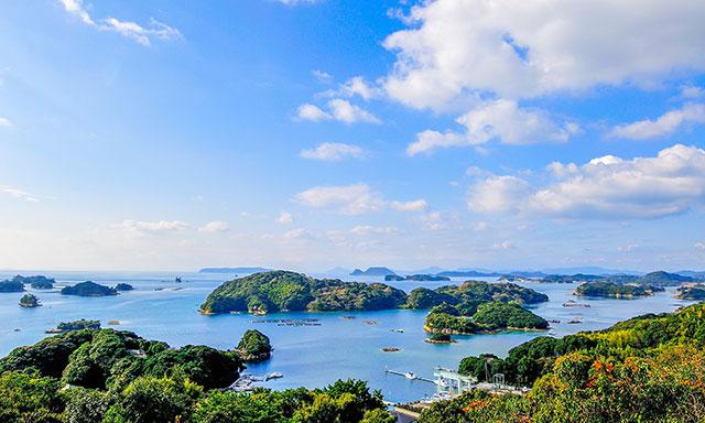 九十九島是由208座島嶼所組成