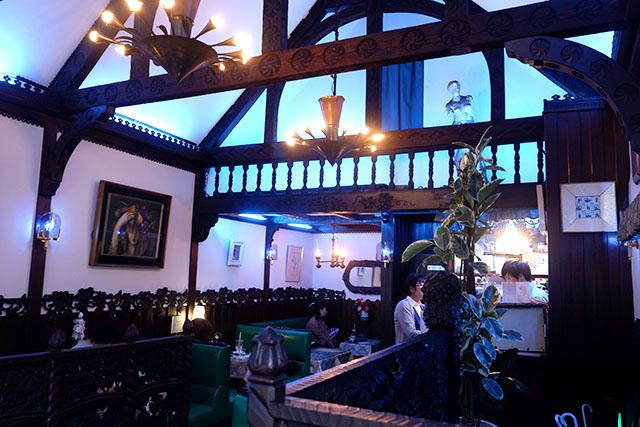 Inside the Tea Room Soirée