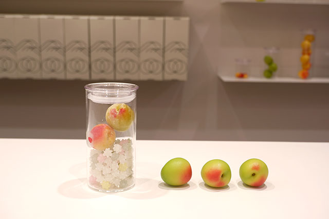 Medium-sized bottle (2,000 yen) + Organic Nanko Plum (90 yen) + Kompeito Sugar (150 yen) = 2,240 yen