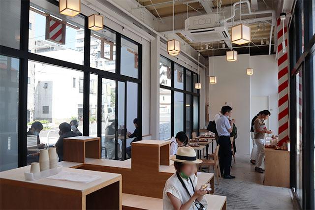 Cafe inside MUYA