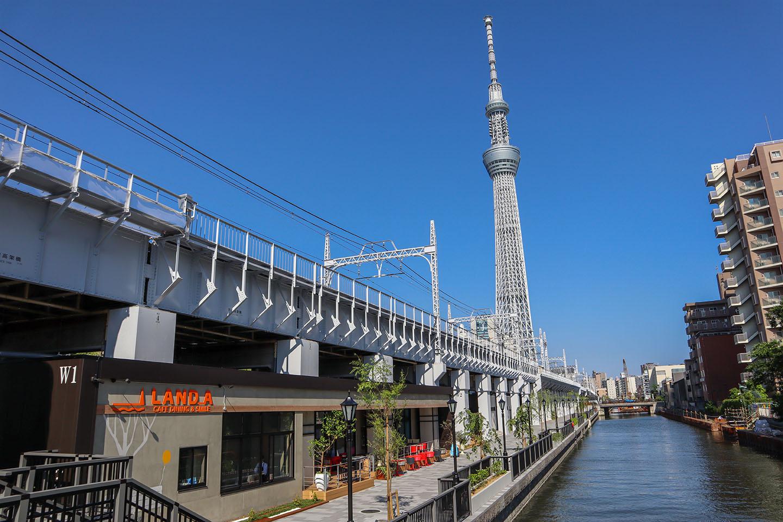 TOKYO mizumachi: Make Travelling Easier b/w Asakusa & Tokyo Sky Tree