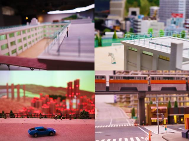 「第3新東京市」的微縮場景模型