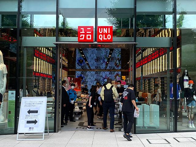 「UNIQLO原宿店」入口