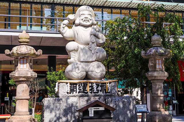Daikokusama, the kami of fortune