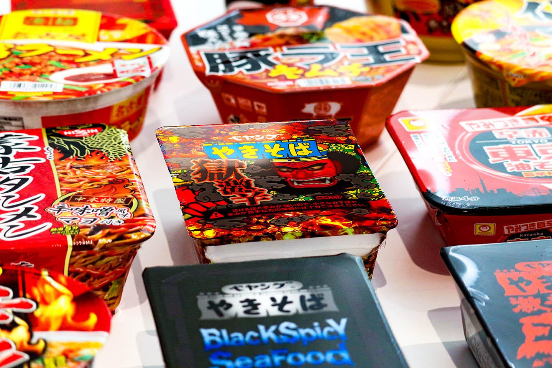 일본도 매운맛 열풍! 일본의 스파이시 컵라면 찾기