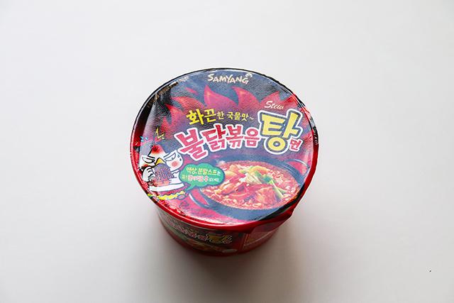 三養Samyang 火辣雞肉風味湯麵(ブルダック炒め湯麺)