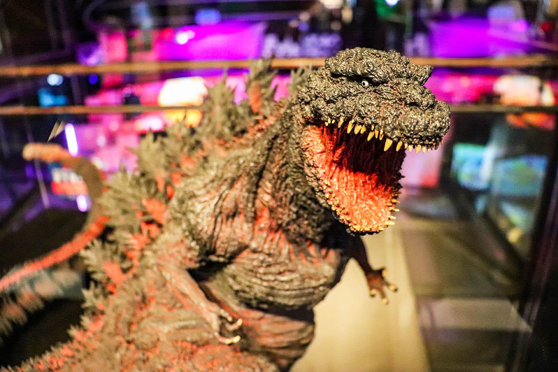 Tokyo Godzilla Museum in Odaiba